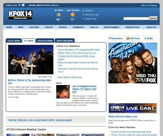 Thumbshot of Kfoxtv.com