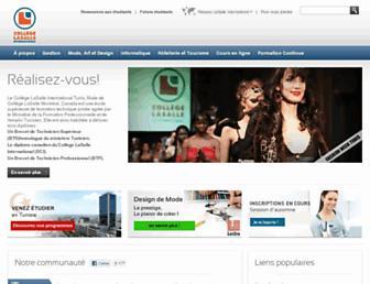 clasalle-tunis.com screenshot