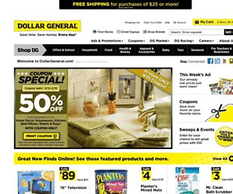 Thumbshot of Dollargeneral.com