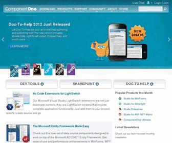 componentone.com screenshot