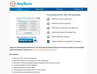 anyburn.com screenshot