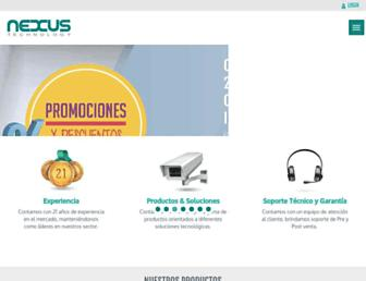 nexus.com.pe screenshot