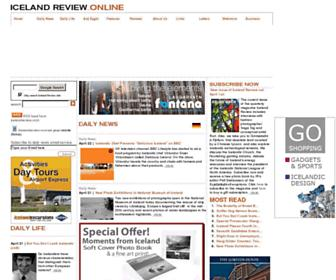 Thumbshot of Icelandreview.com