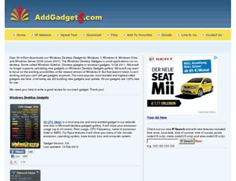 Thumbshot of Addgadgets.com