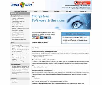 drmsoft.com screenshot
