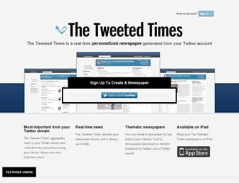 Thumbshot of Tweetedtimes.com