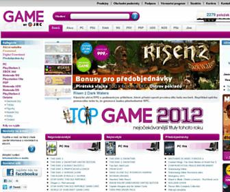 Main page screenshot of jrc.cz