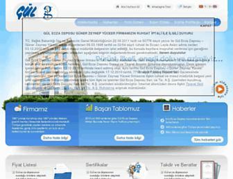 gulecza.com.tr screenshot