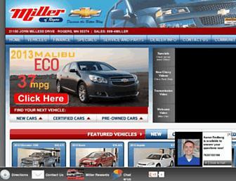 millerchev.com screenshot