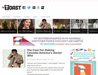 Thumbshot of The-toast.net
