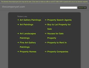 thecompanyart.com screenshot