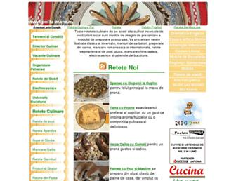 Main page screenshot of pofta-mare.ro