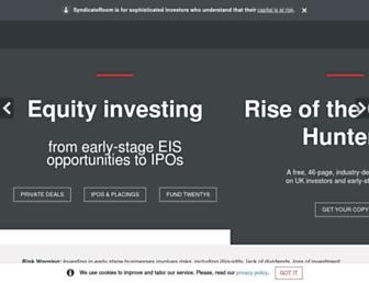 syndicateroom.com screenshot