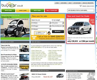 buyacar.co.uk screenshot