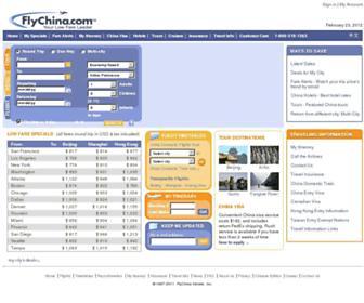 Thumbshot of Flychina.com