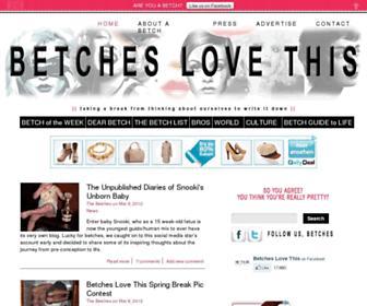 Thumbshot of Betcheslovethis.com