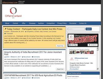 offerscontest.com screenshot