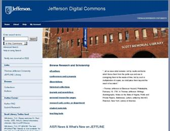 jdc.jefferson.edu screenshot
