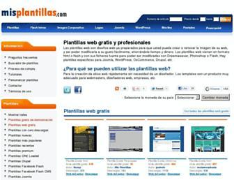 misplantillas.com screenshot