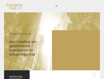enterpriseasia.org screenshot