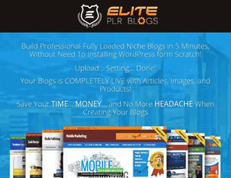 Thumbshot of Eliteplrblogs.com