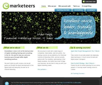 Thumbshot of Emarketeers.com