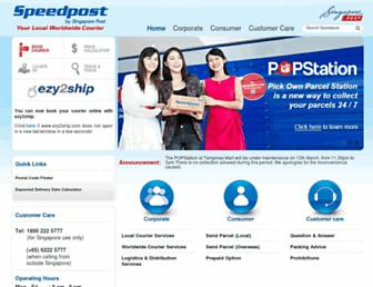 Thumbshot of Speedpost.com.sg