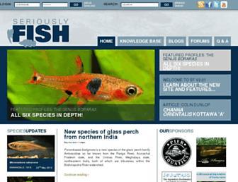 seriouslyfish.com screenshot