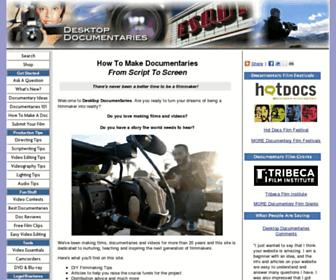 desktop-documentaries.com screenshot