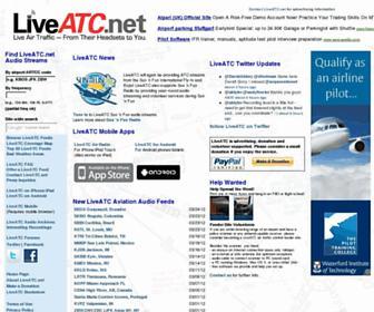 liveatc.net screenshot