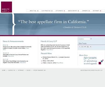 horvitzlevy.com screenshot