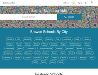 globalschoolrank.com screenshot