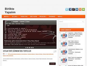 hadibirlikteyapalim.blogspot.com screenshot