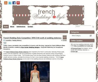 Thumbshot of Frenchweddingstyle.com