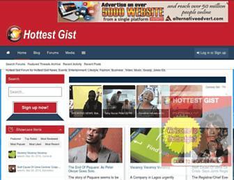 Thumbshot of Hottestgist.com