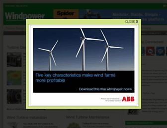 windpowerengineering.com screenshot