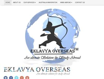eklavyaoverseas.com screenshot