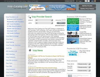 voip-catalog.com screenshot