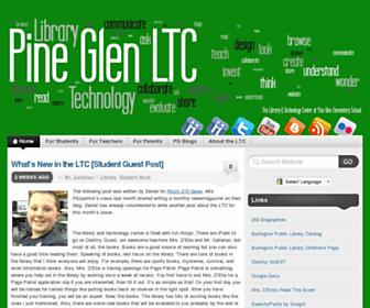 pineglen.info screenshot