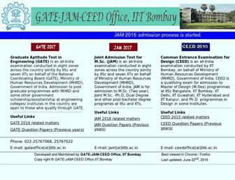 gate.iitb.ac.in screenshot