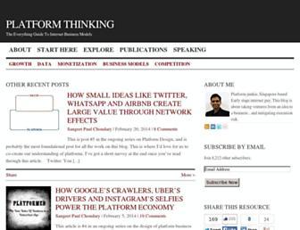 Thumbshot of Platformed.info