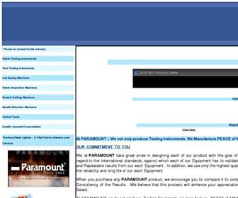 paramountinstruments.com screenshot