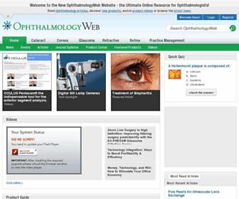 ophthalmologyweb.com screenshot