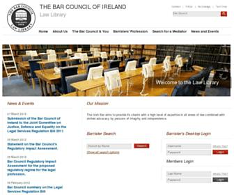 lawlibrary.ie screenshot