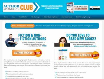 Thumbshot of Authormarketingclub.com