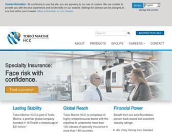 tmhcc.com screenshot