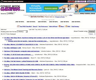 comicbookclassifieds.com screenshot