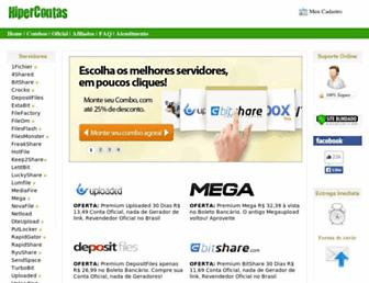 hipercontas.com.br screenshot