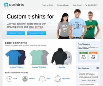 ooshirts.com screenshot