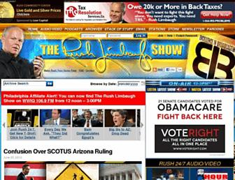 Thumbshot of Rushlimbaugh.com